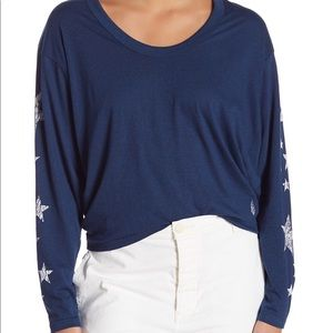 New with tags free people star top size small
